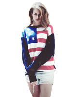 Lana Del Rey PNG by charlii206