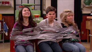 Miranda and Jennette Taped to Chair(s) 8 by Celebstiedandgagged6