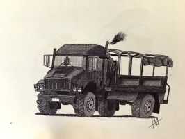 Supply Truck by DrEisenhauer28