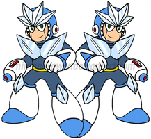 MM3: Gemini man by Nintendrawer