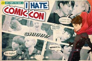 Capa - I hate comic con by imsuchasinner