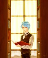 Lanziee in the study by Piece5113