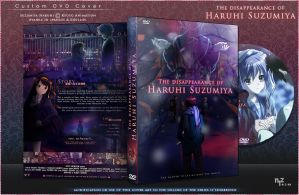 DVD Cover: Haruhi Movie by N1z1ra