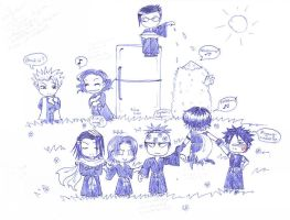 Evil Bleach Chibi :P by Star-Miya