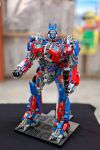 Lego Optimus Prime by buzzyPsychedelicness