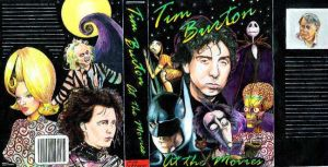Tim Burton book cover exercise by choffman36