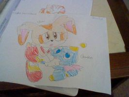 Yet Another Old Drawing of Cream and Cheese by CrystalTheHedgehog18