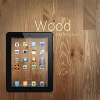 iPad Wood Wallpaper by Martz90