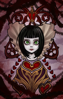 Queen of Hearts by makaka0612