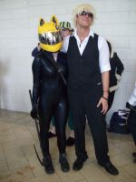 Celty and Shizuo by cuteasianprincess