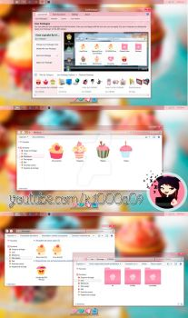 I love Cupcakes theme iconpackager by k1000adesign