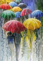 Umbrellas by Doominowskiy