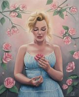 Marilyn Monroe by Emily-Luella