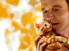 Coulson and the Cat by LicieOIC