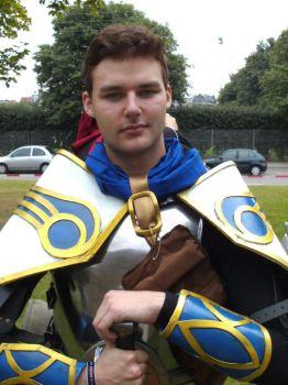 League of Legends Garen by IDanTheManI