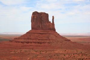 A mitten butte by Dr-J-Zoidberg
