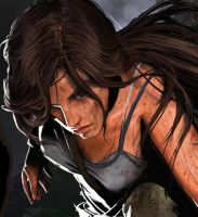 LARA Fight Or Flight CLOSE UP by jimnauya