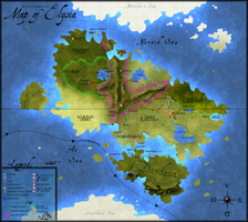 Map of Elysia : Revamp by Freesong