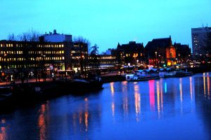 Groningen city  view by harlia