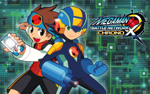 Mega Man Battle Network Chrono X Promo by Shoutaro-Saito