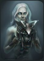 DotA 2, Visage / Self-portrait by DariaDesign