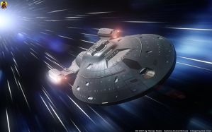 Warping Voyager by Euderion