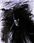 Batman Paint And Brush shadows by DougSQ