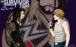 Battle of brothers- Survivor Series 2015 by IceKaddy