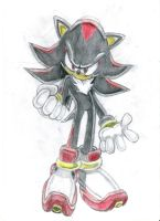 Shadow the Hedgehog SA style 1 by nothing111111