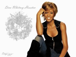 Whitney Houston by diegocamara