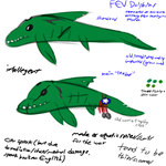 Fallout FL FEV dolphins design concepts by Ashlynnii