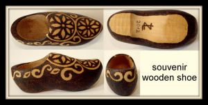 Wooden Shoe by my-craftmania