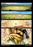 Sentry returns page 1 colored by mikemaluk