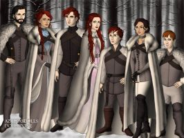 House Stark by BlackRoseOfSummer