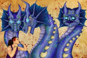 Me hydra by Lady-Lumiya
