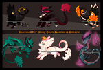 AUCTION: Spooky Collab Kamis and Hoshiryu PENDING! by Mad-Izoku