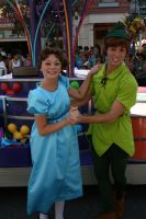 Swingin' Peter and Wendy by DisneyLizzi