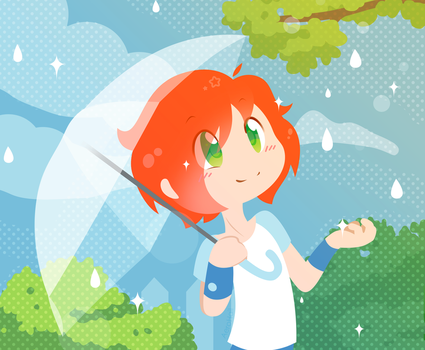 OC - Summer showers by Aer0Hail