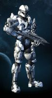 Halo 4 OC: Grant Layne by purpledragon104
