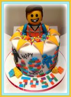 The Lego Movie Cake by gertygetsgangster
