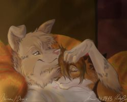Now ... we are friends :P by Mouva
