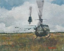 Bell UH-1 Iroquois by dave3422