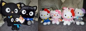 Hello Kitty and Chococat plush collection by JamJams