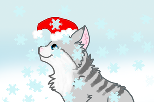 Christmas Kitty BD by XSuperkittyX