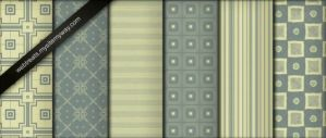 Seamless Olive Green Patterns by durninDeodato