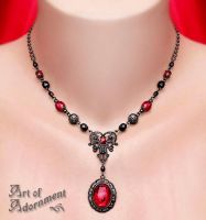 Lucrezia Pendant Necklace by ArtOfAdornment