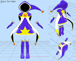 MMD CCS Costume -DOWNLOAD by MMDFakewings18