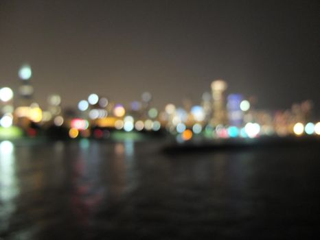 City on the Blur by JClose