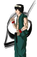 The Forgotten SF: Rock Lee by ultima0chaotic