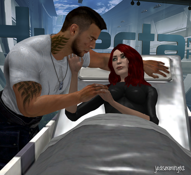 My Valentine - James and Jane {Mass Effect} by jediserenity82